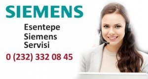 İzmir Esentepe Siemens Servisi