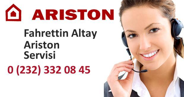 İzmir Fahrettin Altay Ariston Servisi