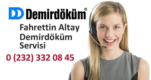 İzmir Fahrettin Altay Demirdöküm Servisi
