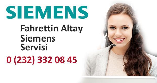 İzmir Fahrettin Altay Siemens Servisi