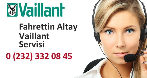 İzmir Fahrettin Altay Vaillant Servisi